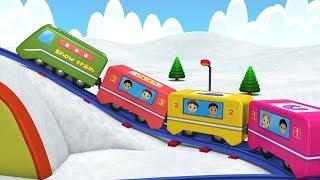 Thomas The Train - Choo Choo Train - Toy Factory - Kids Videos for Kids - Train Cartoon for Children