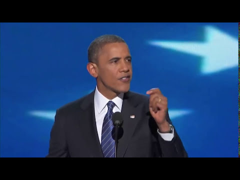 President Barack Obama's Full DNC Speech - Elections 2012