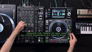 Ethan Leo & Denon DJ - X1800, Synth, Midi, Turntable and Dual Layer performance