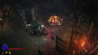 Diablo III (PS4 version) gameplay