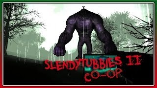 OUTLAST КУРИТ В СТОРОНКЕ Slendytubbies II CO-OP
