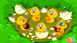 Five little Ducks Animation Song