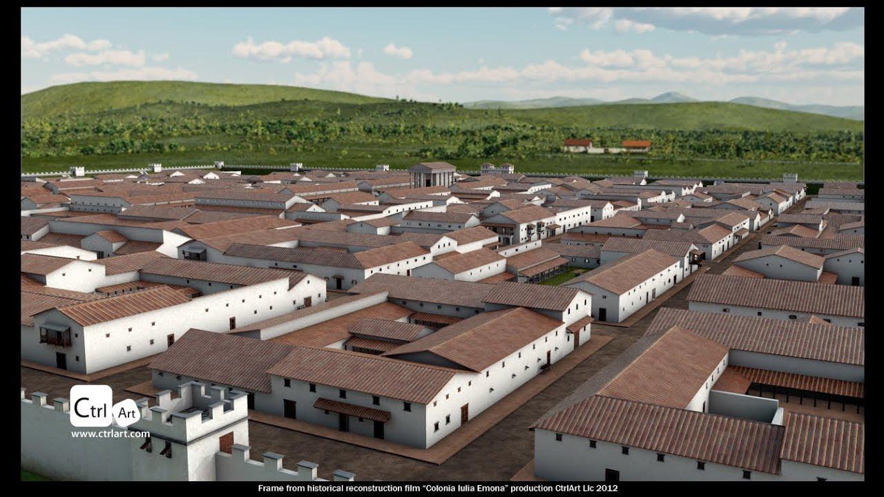 Ctrlart Roman Town Historical Reconstruction Colonia