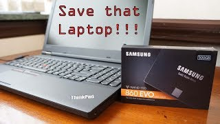 Save that Laptop!  SSD and RAM upgrading