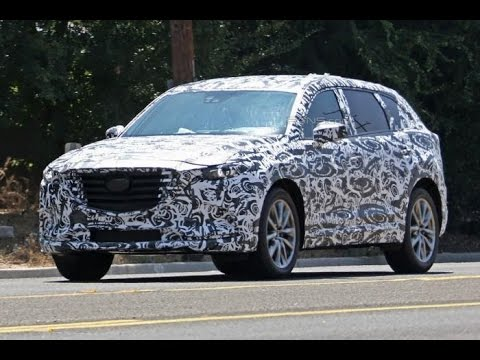 SPY Photos for The new Mazda CX-9 2017