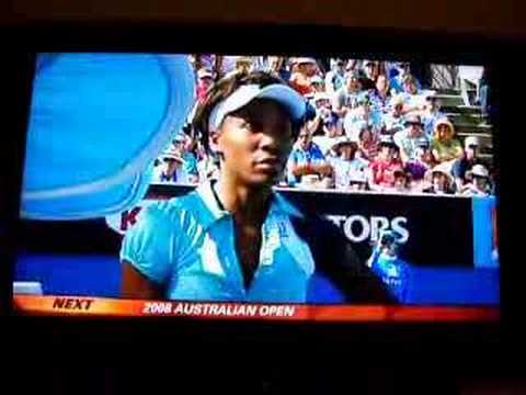 Venus Williams vs. Aussie Open Umpire