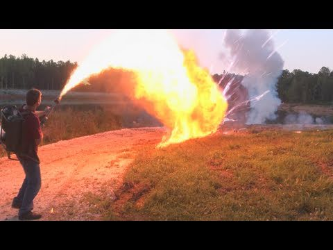 FLAMETHROWER MASSACRE