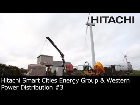 Hitachi Smart Cities Energy Group & Western Power Distribution joint venture (UK) : solution