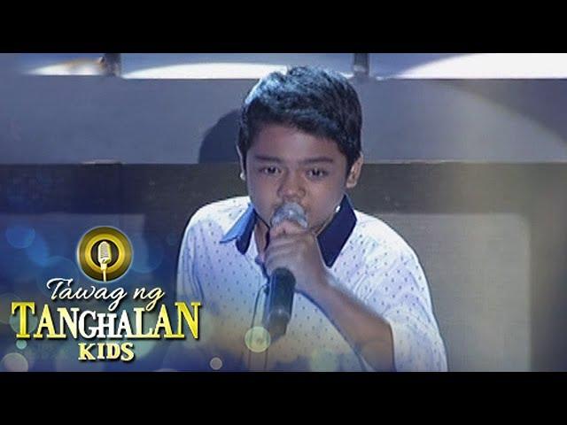 Tawag ng Tanghalan Kids: John Ramirez | I Don't Wanna Miss A Thing