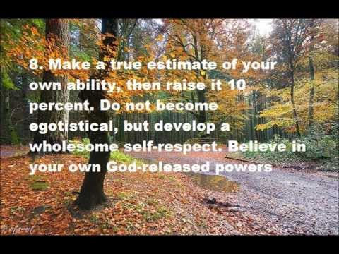 10 Steps to Success by Dr. Norman Vincent Peale
