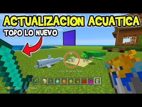 REVIEW De La ACTUALIZACIÓN ACUÁTICA TU69 Minecraft Xbox 360/PS3/PS4/Psvita/Wii u