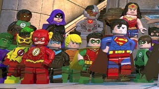 LEGO DC Super-Villains - Final Boss Fights + Alternate Endings