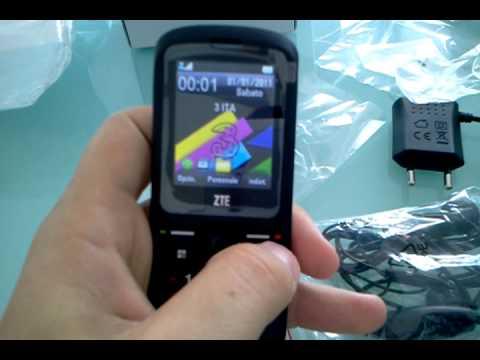 VIDEORECENSIONE ZTE F116 PRIMA ACCENSIONE E USO PER AMICI FORUM TELEFONINO.NET