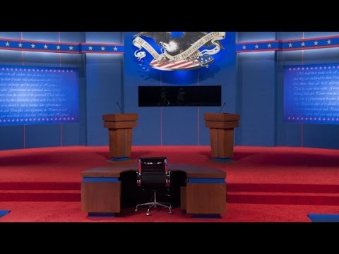 14 months of debates in under three minutes