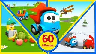 Cartoni animati per bambini - 60 minuti di Leo Junior: le quattro stagioni