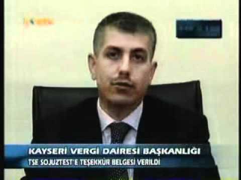 KonTv-TSE SELİM ULAŞ VERGİ REKORMENLİĞİ ÖDÜLÜ ALDI.wmv