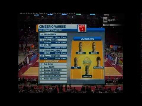EA7 Emporio Armani Milano vs. Cimberio Varese (Lega Basket A # Giornata 12 # 23/12/12)