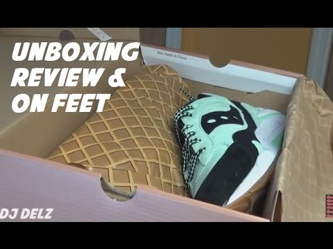 Saucony Mint Chocolate Chip Scoop Sneaker Pack Unboxing Review + Comparison With Mint Grid 9000