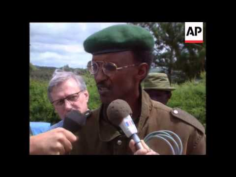Rwanda - Rebel Leader Negotiates With UN