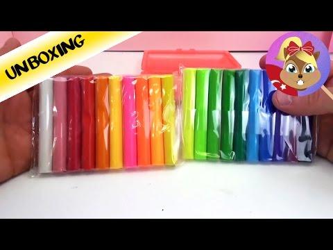 20 Renkli Oyun Hamuru Paketi - Play Doh Alternatif Türkce Stylex Oyun Hamuru
