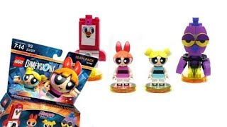 Review: LEGO Dimensions, The Powerpuff Girls Team Pack set 71346 (Blossom and Bubbles... )