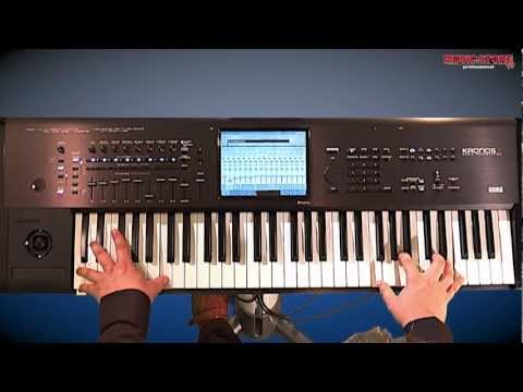 Die neue KORG KronosX (Kronos X) Synthesizer Workstation