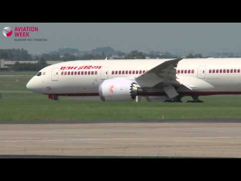 Paris Air Show 2013: Boeing 787