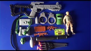 Box of Toys ! GUNS BOX Toys Military & Police equipment | Gun toy (40)