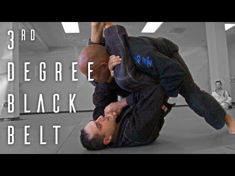 BJJ: 3rd Degree Black Belt