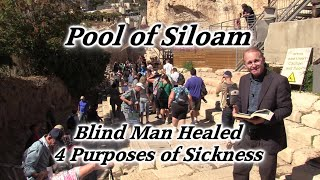 Video: Pool of Siloam, where Jesus healed a blind man - HolyLandSite