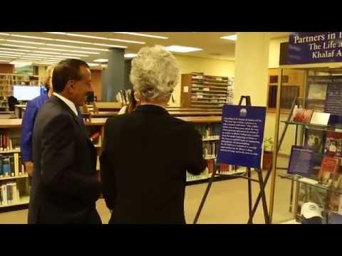 Dedication of the Khalaf Al Habtoor Archives at Illinois College