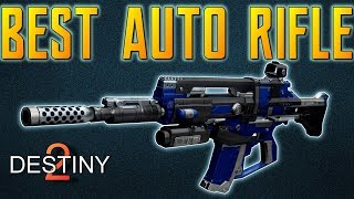 Destiny 2 BEST AUTO RIFLE & How To Get It!! MAX RANGE Rare Auto Rifle REVIEW   It Looks SO GOOD!!