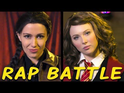 KATNISS vs HERMIONE: Princess Rap Battle (Molly C. Quinn & Whitney Avalon)