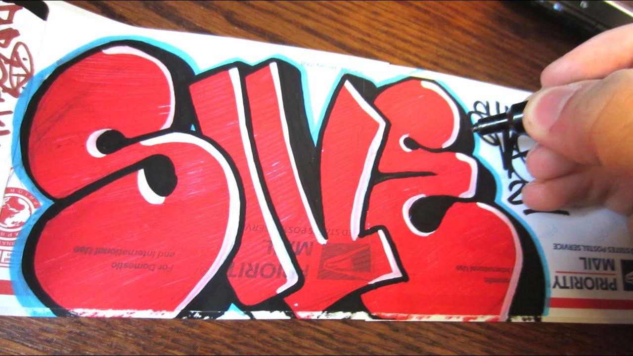 Как сделать граффити стикеры