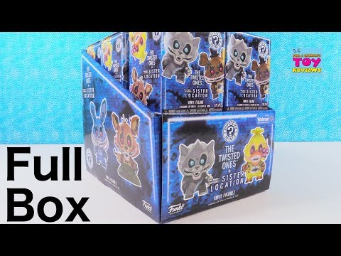The Twisted Ones Five Nights At Freddys Walmart Exclusive Funko Mystery Minis Toy Review | PSToyRevi