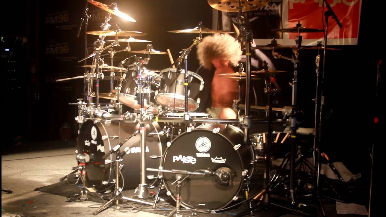 Tommy Aldridge Drum Clinic YouTube
