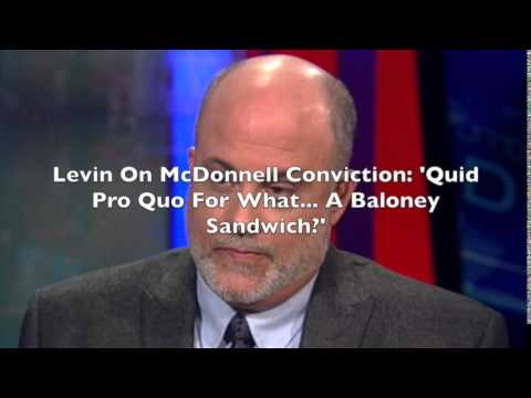 Mark Levin On Bob McDonnell Conviction