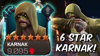 6 Star Karnak Level Up & Gameplay! - Iron Man Infinity War Takedown?! - Marvel Contest of Champions
