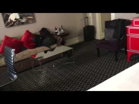 Kimpton Sir Francis Drake Hotel Room Review in San francisco