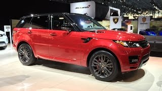 2016 Range Rover Sport HST - 2015 NYIAS - Fast Lane Daily