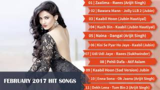 Best & Latest Bollywood Songs | February 2017 | Top New Songs Jukebox