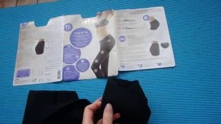 Taking it out of the package - Perfetta 70 den Seamless tights by OMSA