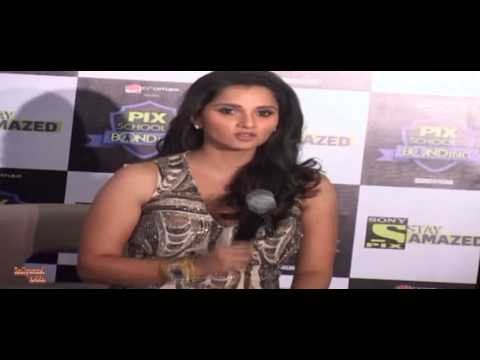 Sania Mirza | Launch Of Sony Pix | The Pix School Of Bonding video