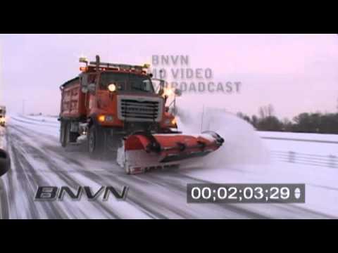 12/30/2008 Saint Cloud, MN Winter Storm Video