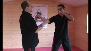 Pressure Point Knife disarm by Master Angelo