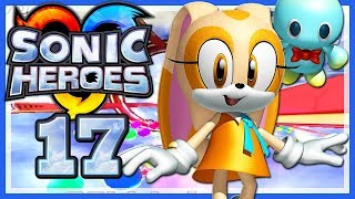 SONIC HEROES # 17 🦔 Sahne sucht mit Käse nach Schokolade! [HD60] Let's Play Sonic Heroes