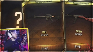 I GOT ALL THE NEW WEAPONS!! (LUCKY BO3 SUPPLY DROP OPENING)