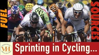 Sprinting in cycling - Fuel sources used in Sprints and Sprint Training