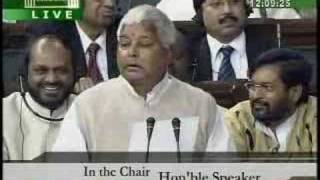 Laloo prasad yadav speaks english