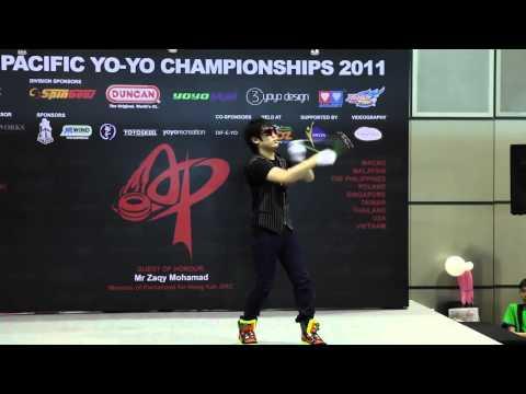 AP11: 1A Finals 3rd - Hiroyuki Suzuki (JP) - Asia Pacific Yo-yo Championships 2011